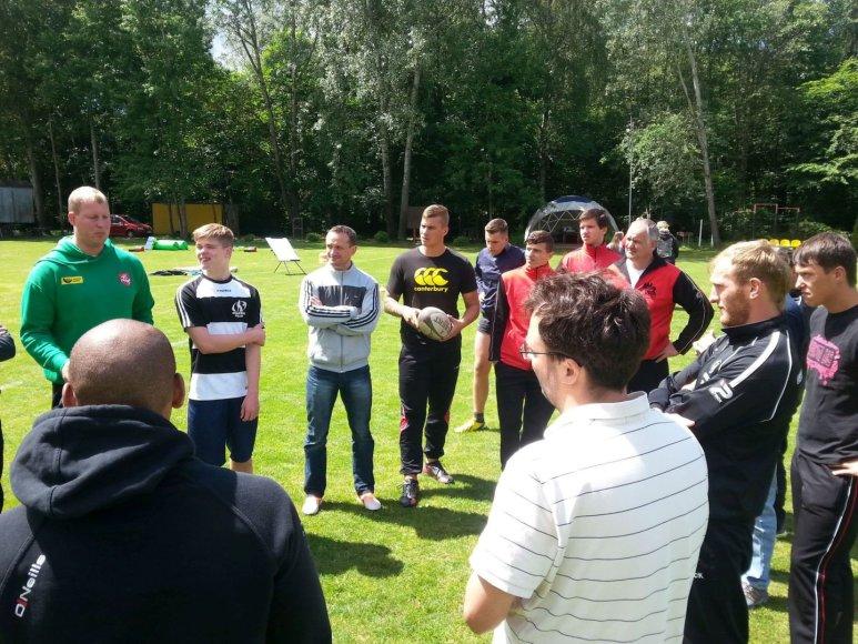 Regbio trenerių mokymai