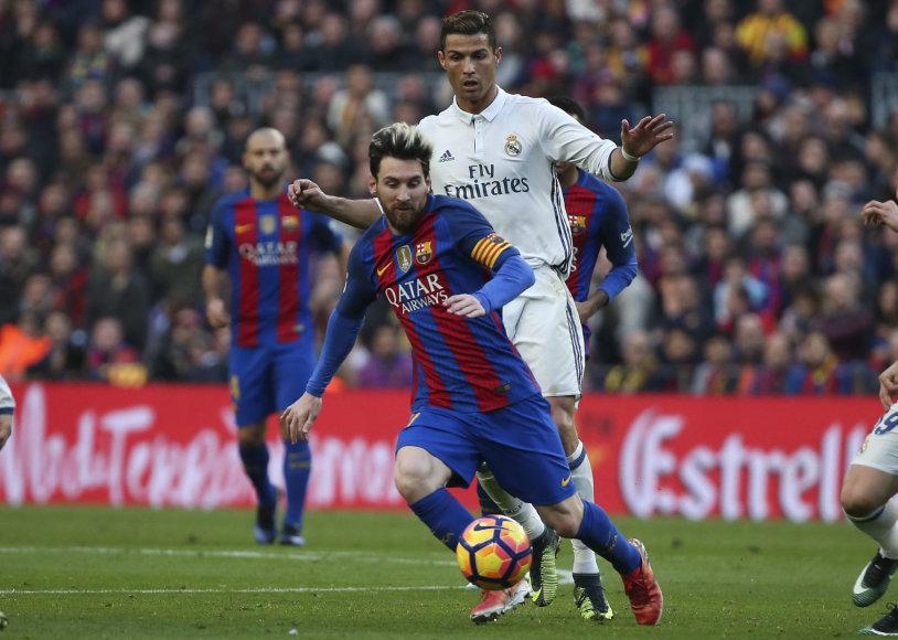 Cristiano Ronaldo ir Lionelis Messi
