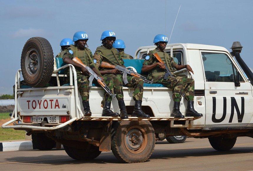 JT taikdariai Pietų Sudane