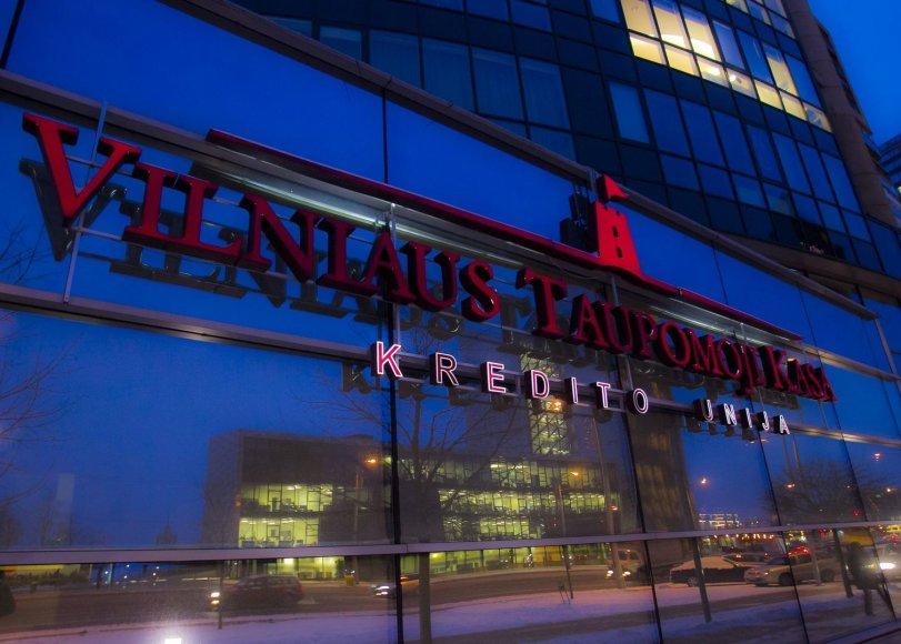 Didžiausia kredito unija – Vilniaus taupomoji kasa – paskelbta nemokia.