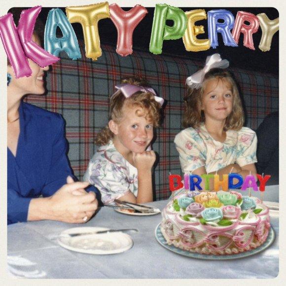 "Katy Perry singlo ""Birthday"" viršelis"