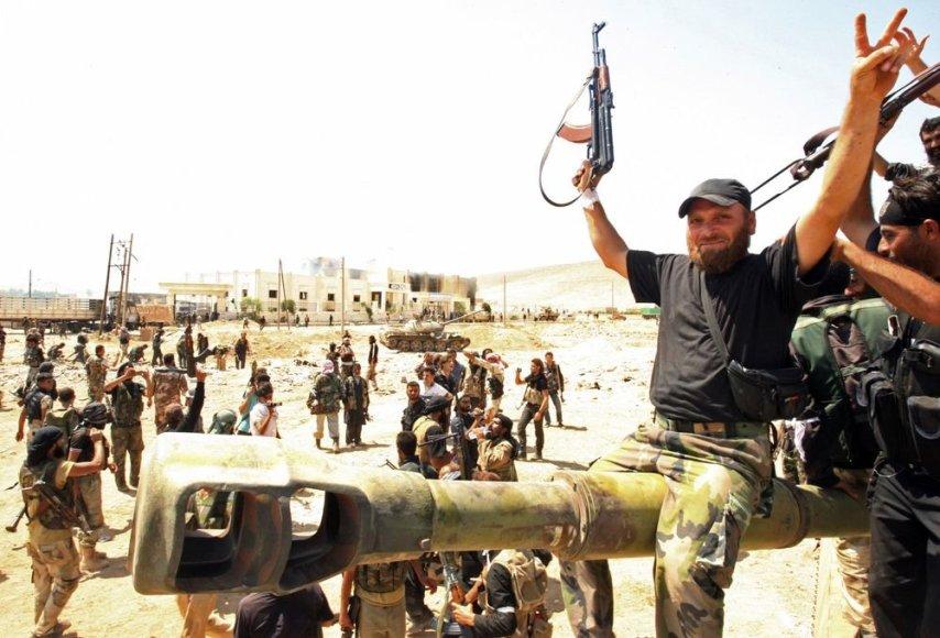 Sirijos laisvosios armijos kovotojai