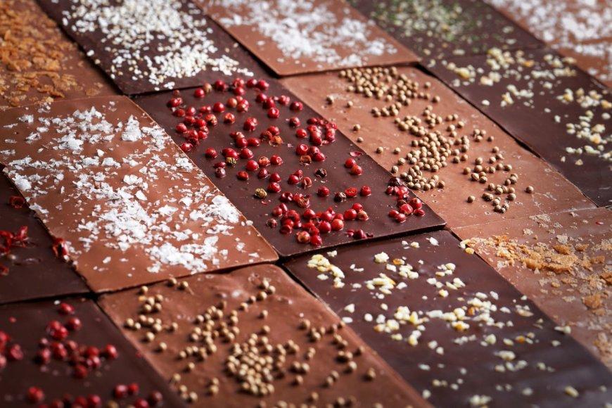 Šokoladas su prieskoniais