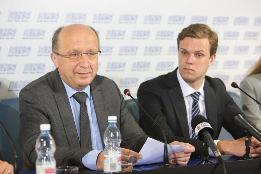 Andrius Kubilius ir Gabrielius Landsbergis