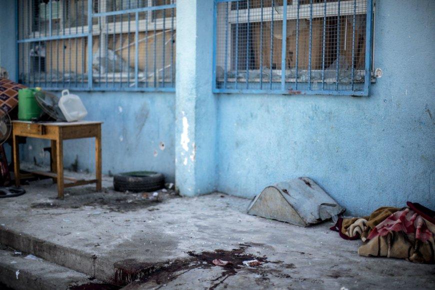 Izraelio sviedinys pataikė į JT mokyklą Gazos Ruože