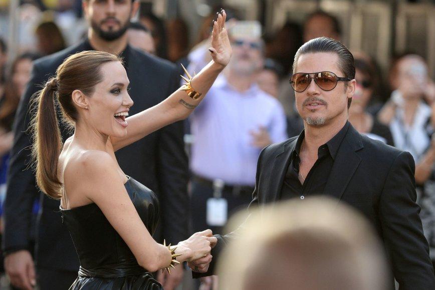Bradas Pittas ir Angelina Jolie (2014 m.)