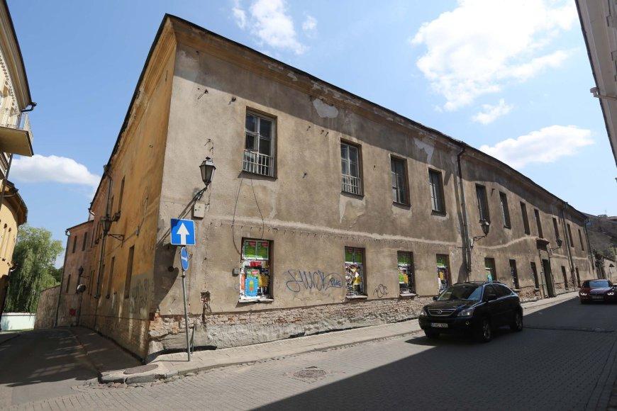 Apleista ligoninė Vilniaus Senamiestyje