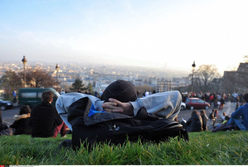Paryžius dabar – taip pat neįprastai šiltas