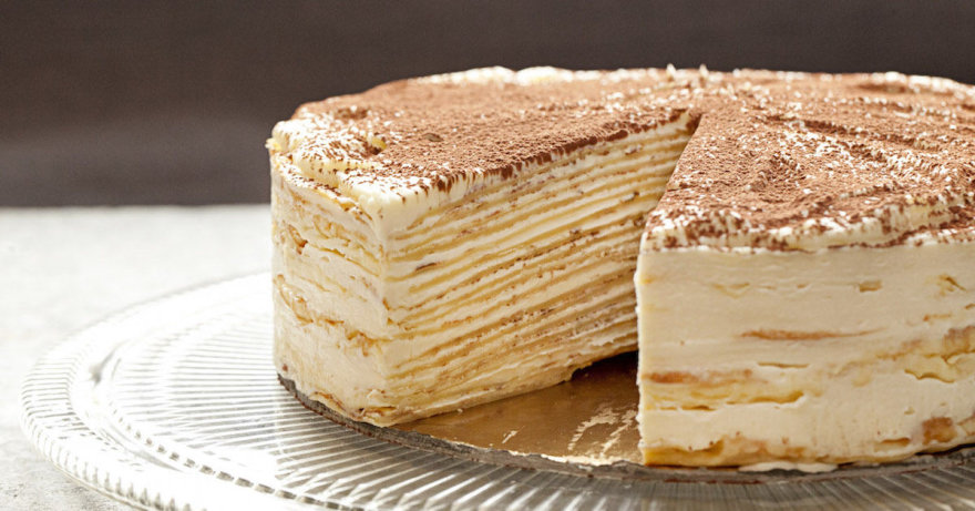 Šimto blynų tortas