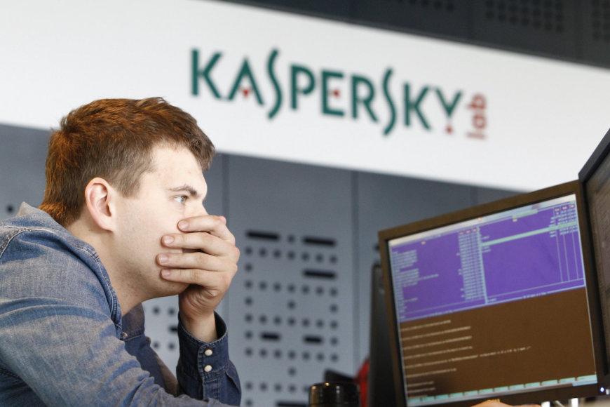 """Manoma, kad """"Kaspersky Lab"""" – glaudžiai susijusi su Rusijos slaptosiomis tarnybomis"""