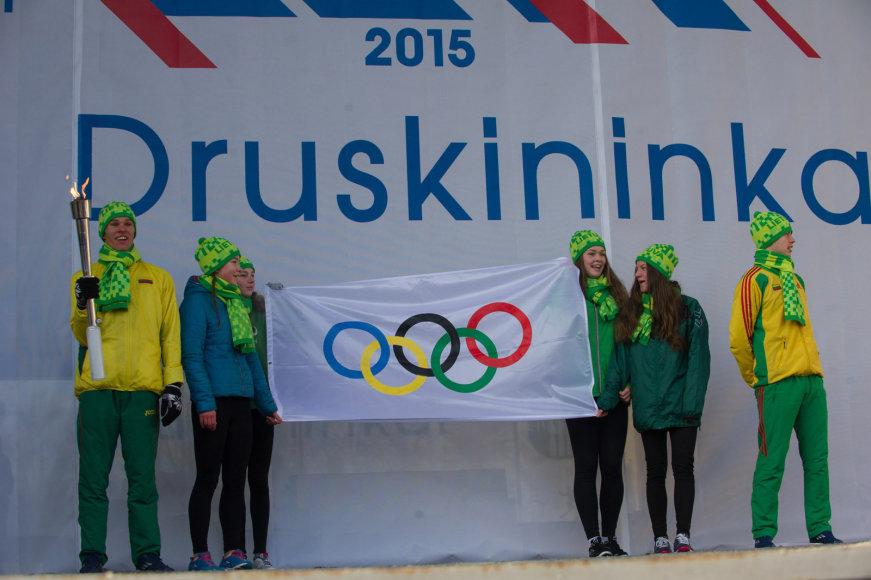 Šeštadienį Druskininkuose – olimpinis žiemos festivalis