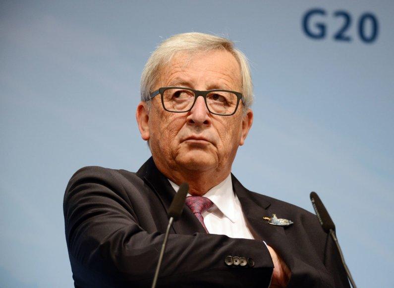 Jeanas Claude'as Junckeris Hamburge