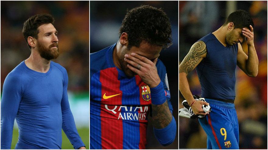 Lionelis Messi, Neymaras ir Luisas Suarezas