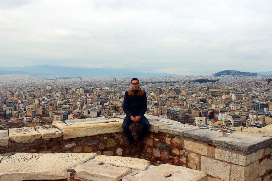 Dar viena Atėnų panorama