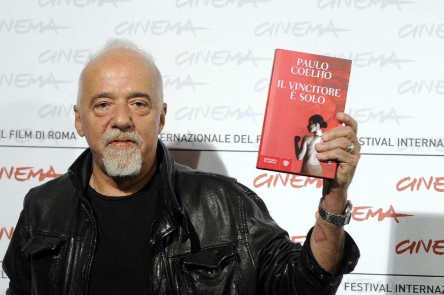 Brazilijos rašytojas Paulo Coelho minės jubiliejų