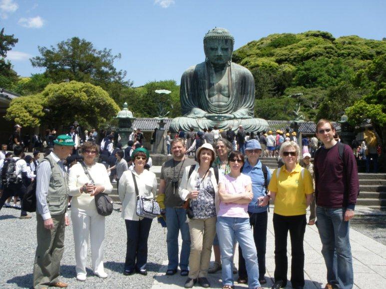 Prie Budos Japonijoje