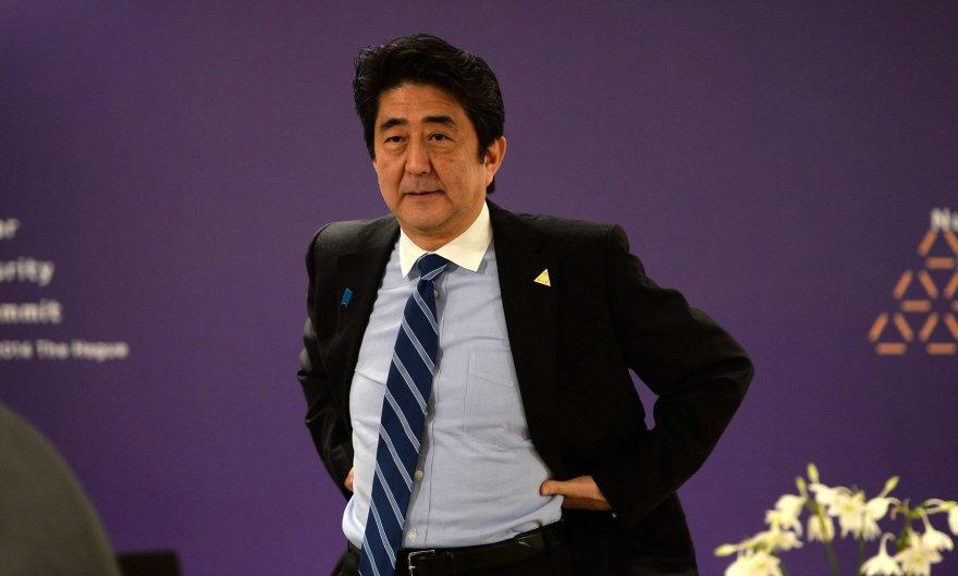 Japonijos ministras pirmininkas Shinzo Abe