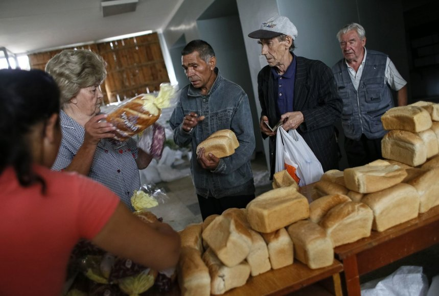 Slovjanske gyventojams dalijama duona