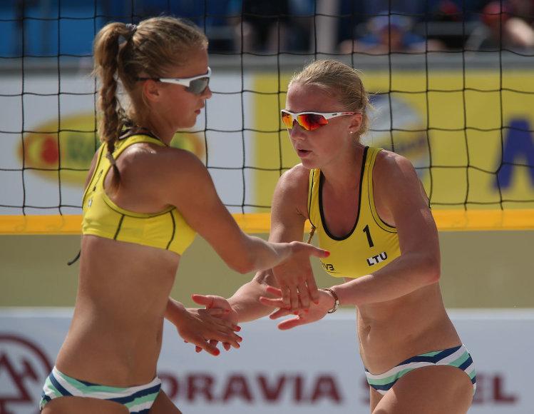 Monika Povilaitytė ir Ieva Dumbauskaitė