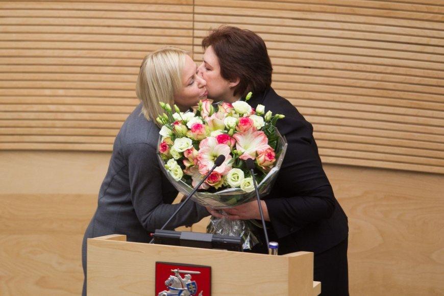 Daiva Raudonienė ir Loreta Graužinienė