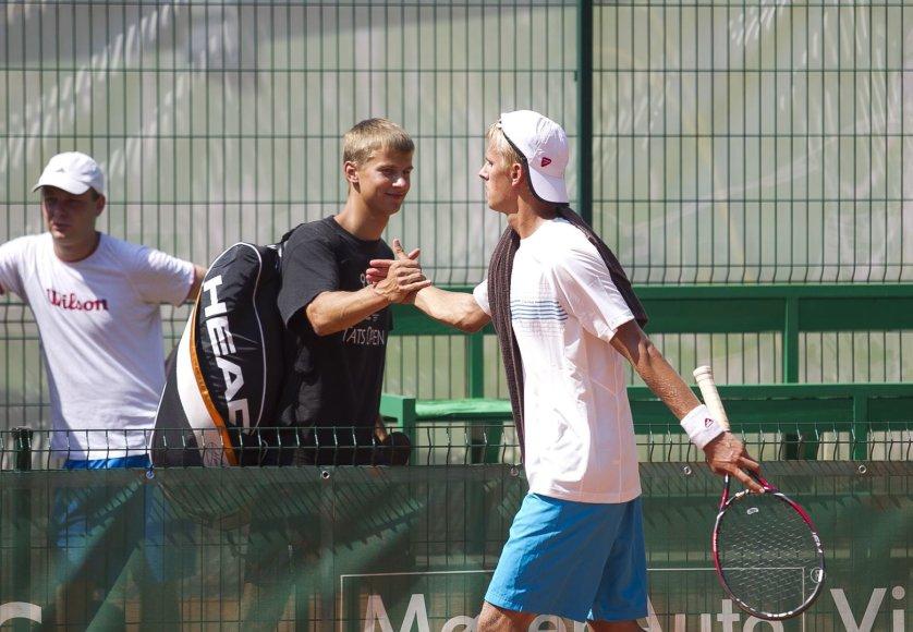 Pirmadienį Vilniuje startavo Prezidento taurės tarptautinis teniso turnyras.