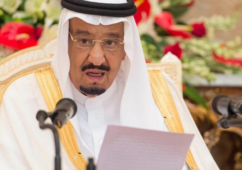 14. Saudo Arabijos karalius Salmanas bin Abdulazizas