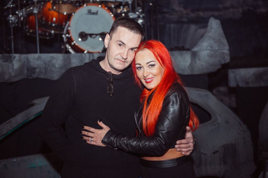 Elegijus Strasevičius ir Džordana Butkutė