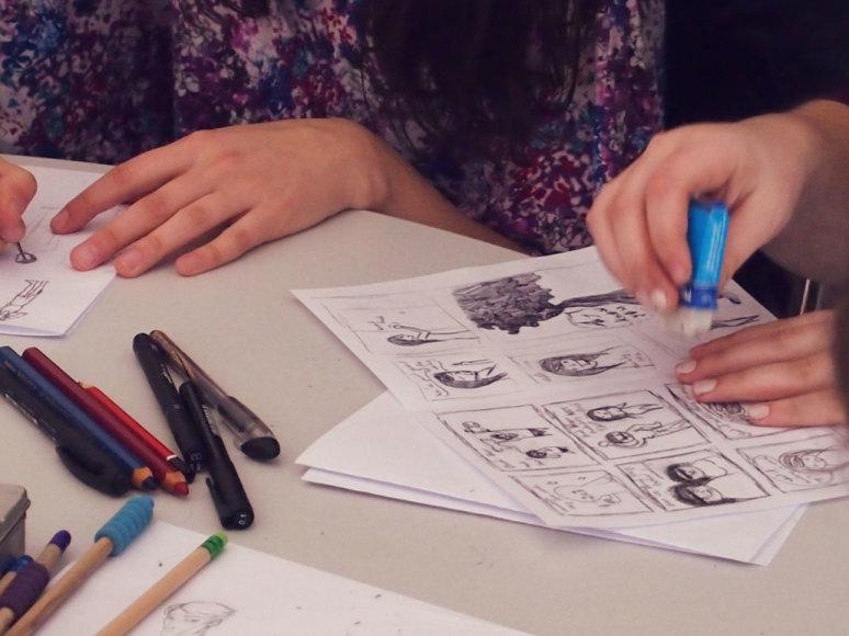 Klaipėdoje savaitgalį veiks istorinių komiksų kūrybos dirbtuvės.