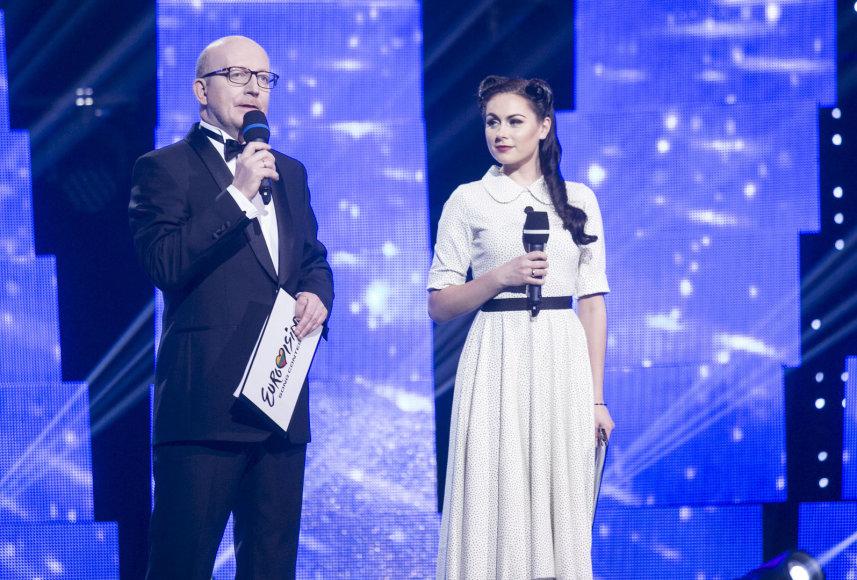 Arūnas Valinskas ir Simona Nainė