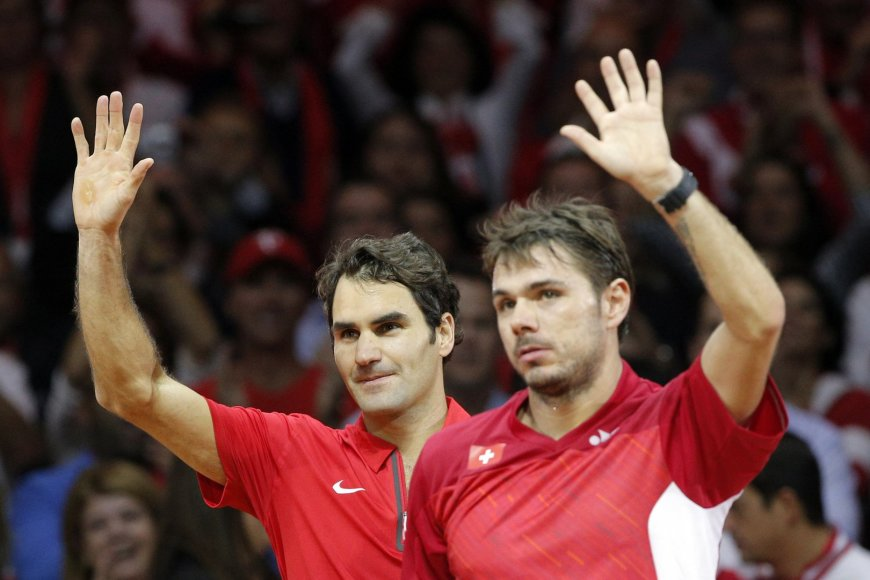 Rogeris Federeris ir Stanislas Wawrinka