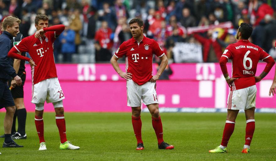 """""""Bayern"""" žaidėjai"""