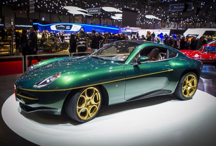 """Alfa Romeo Disco Volante"" Ženevos automobilių parodoje"