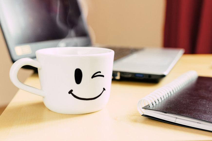 Fotolia nuotr./Nuotaikingas puodelis.