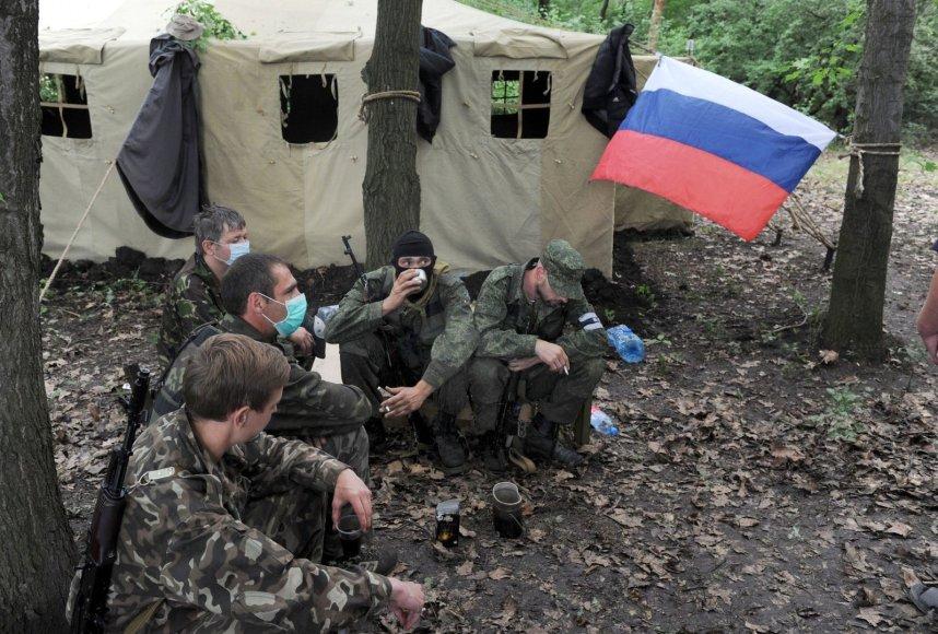 Iki šiol Donecką kontroliuoja prorusiški riaušininkai