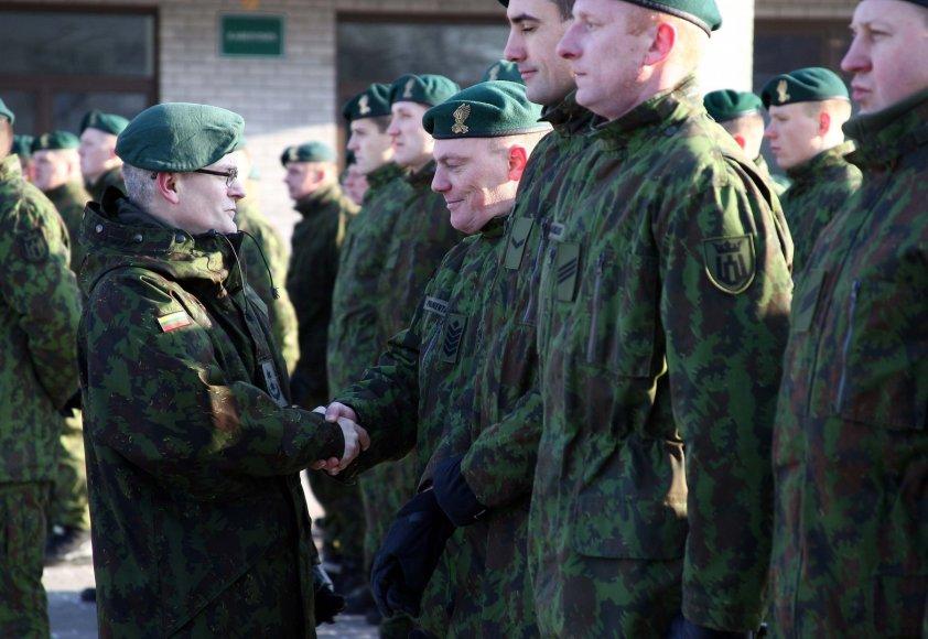 Gedimino štabo batalione