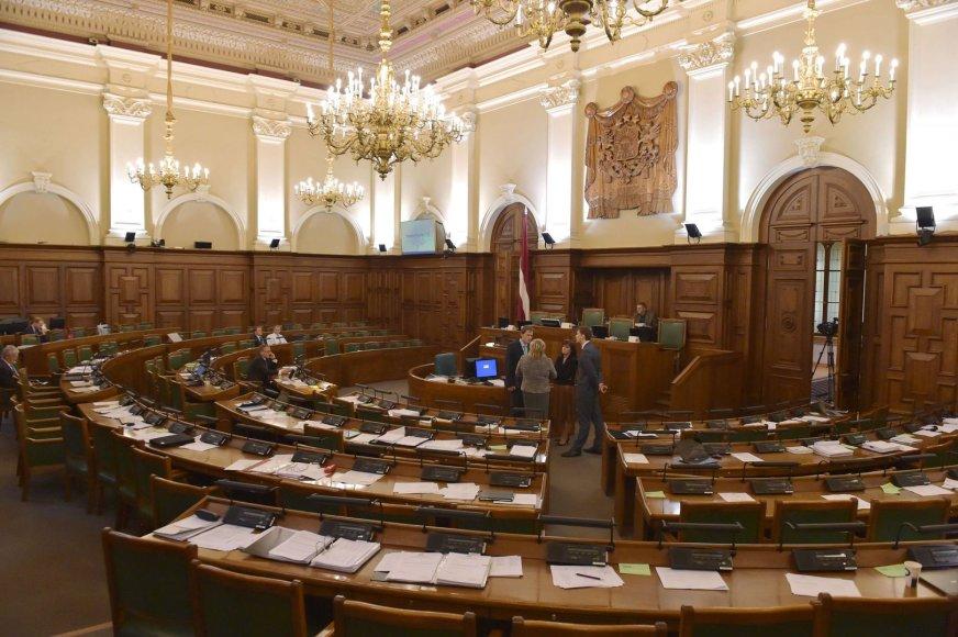 Latvijos parlamento vidus