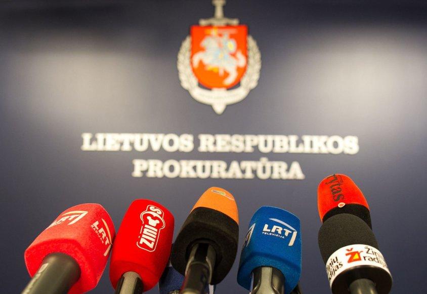 Spaudos konferencija Generalinėje prokuratūroje