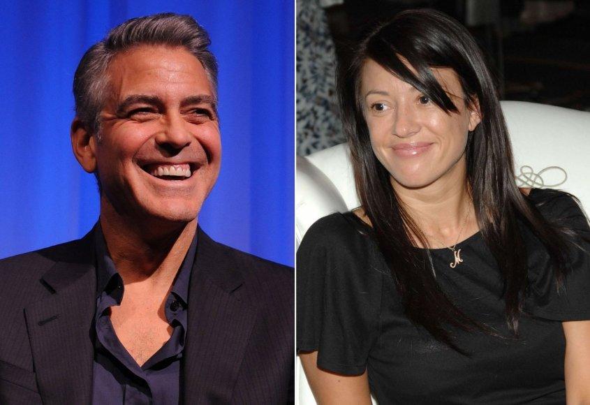George'as Clooney ir Monika Jakisic