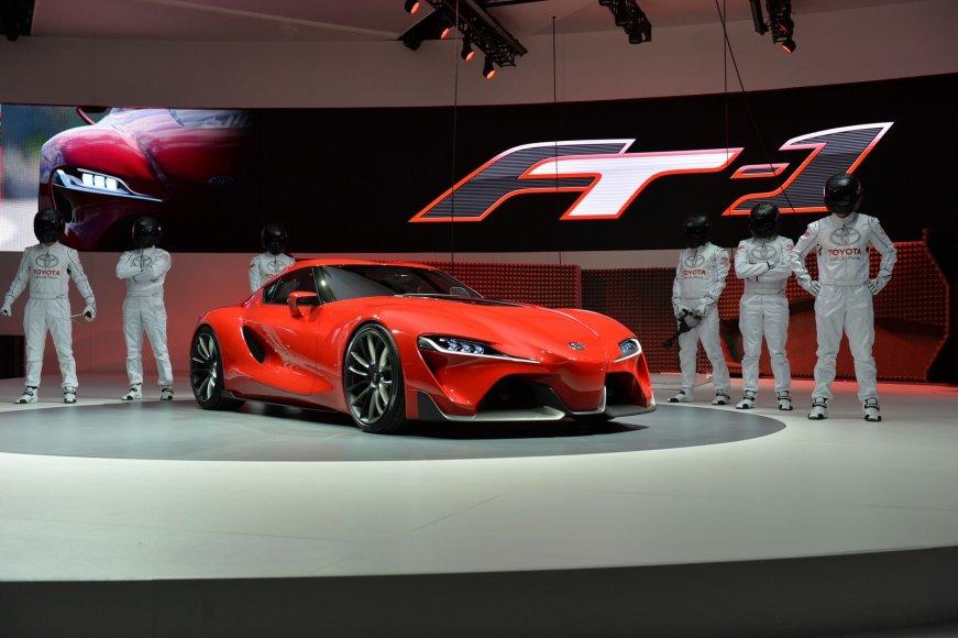 "Koncepcinis ""Toyota FT-1"""