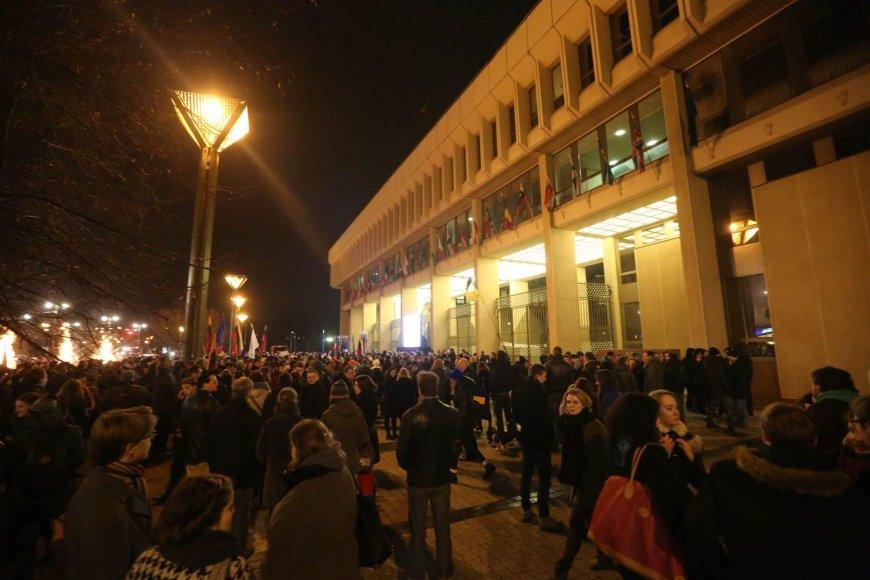 Akcija prie Seimo