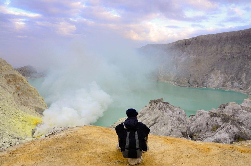 Kavah Ijen ugnikalnis