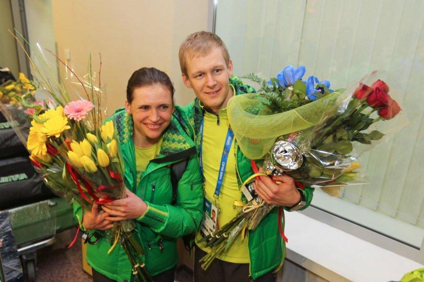 Diana Rasimovičiūtė ir Tomas Kaukėnas