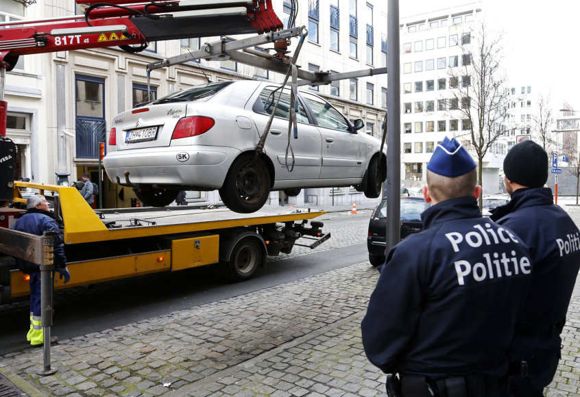 Prie Europos Parlamento sulaikytas slovakas.