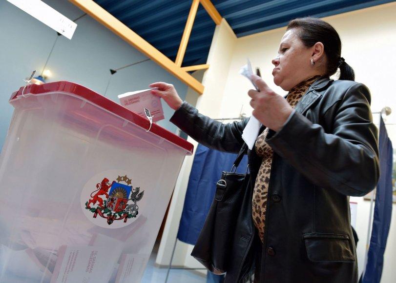 Rinkimai Latvijoje
