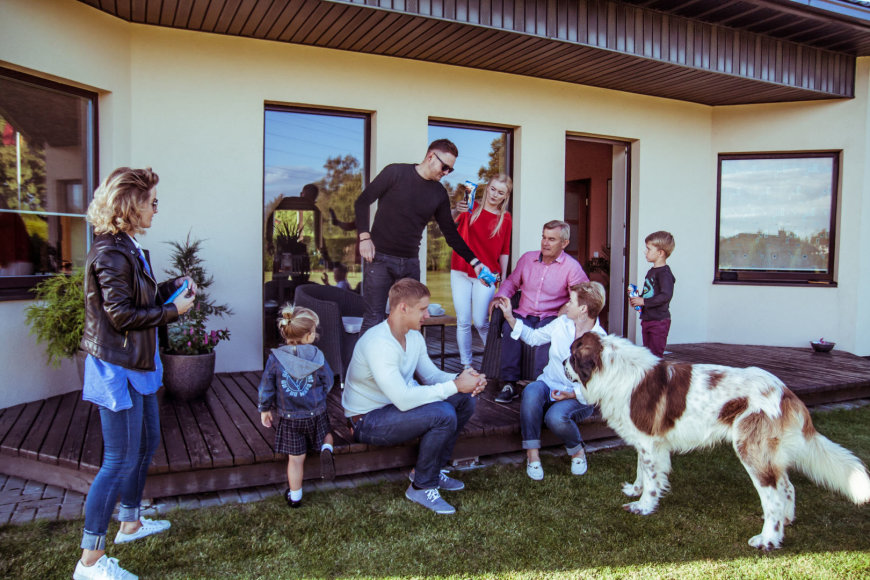 Asmeninio albumo nuotr./Irenos ir Viktoro Pranckiečių šeima