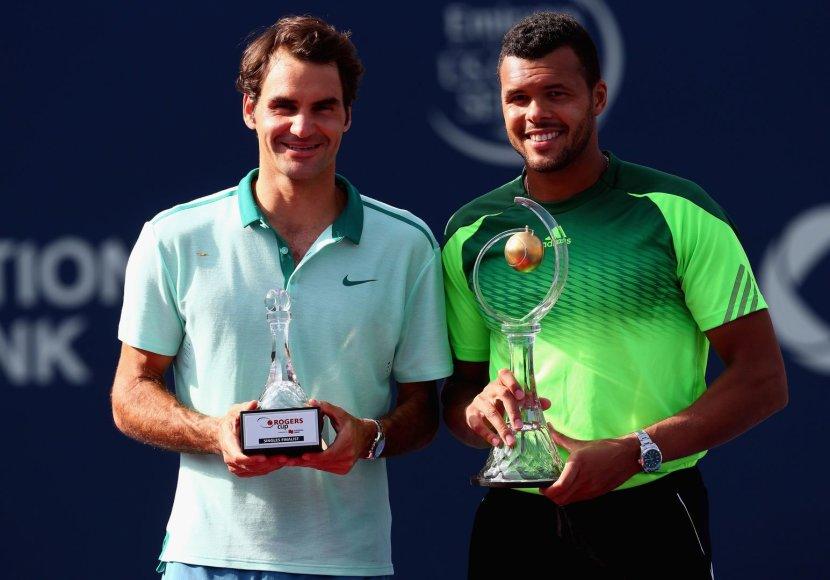 Rogeris Federeris ir Jo-Wilfriedas Tsonga
