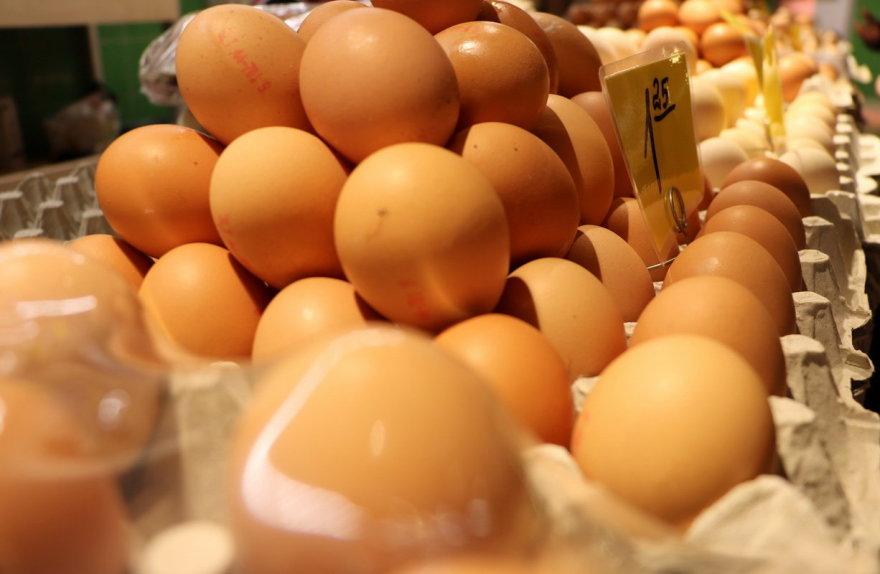 Parduodami kiaušiniai