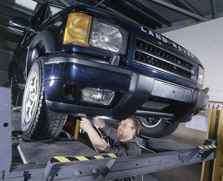 Automobilio diagnostika servise
