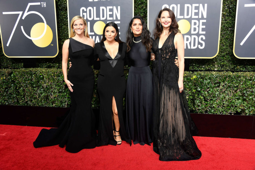 "AFP/""Scanpix"" nuotr./Reese Witherspoon, Eva Longoria, Salma Hayek ir Ashley Judd"