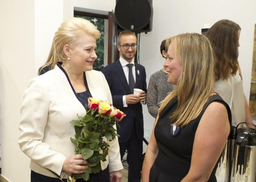 Dalia Grybauskaitė ir Milda Dargužaitė